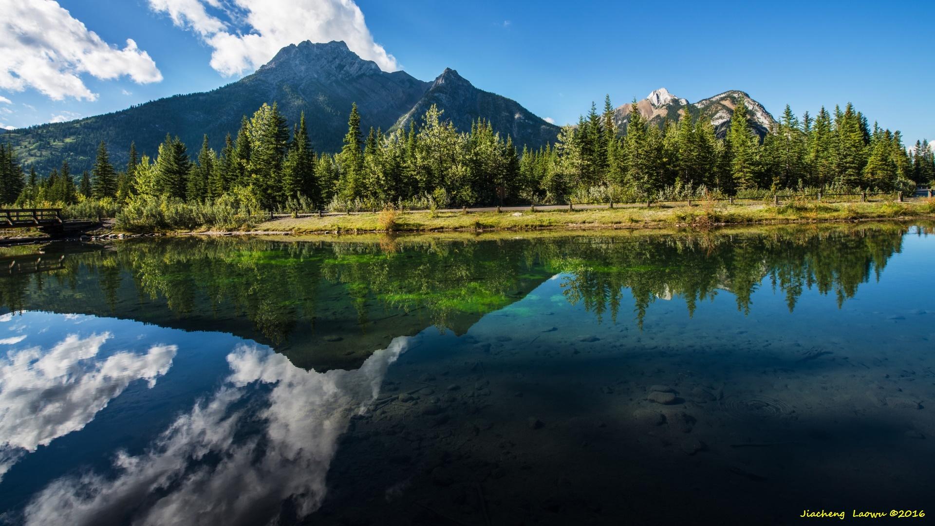 加拿大-美国洛基山之游(8)- 路边的风景